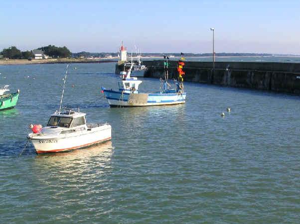 La presqu 39 ile de rhuys - Port saint jacques morbihan ...